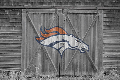 Denver Broncos Art Print