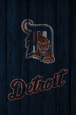 Detroit Tigers Art Print
