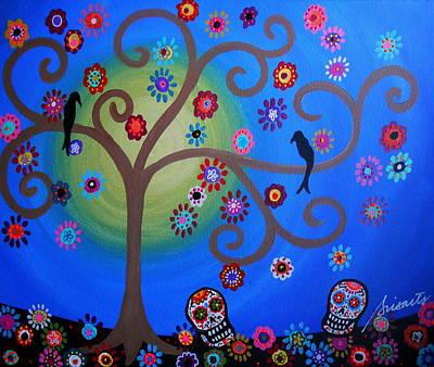 Painting - Dia De Los Muertos by Pristine Cartera Turkus