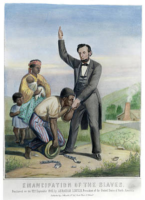 Republican Painting - Emancipation Proclamation by Granger