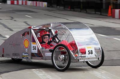 Fuel-efficient Vehicle Competition Art Print
