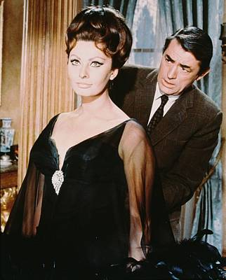 Sophia Loren Photograph - Gregory Peck by Silver Screen
