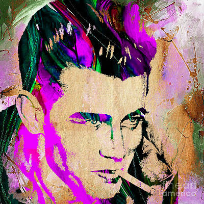 James Dean Mixed Media - James Dean Collection by Marvin Blaine