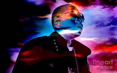 Jay Z Collection Art Print