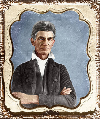 Abolition Painting - John Brown (1800-1859) by Granger