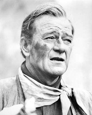 Mitchell Photograph - John Wayne by Retro Images Archive