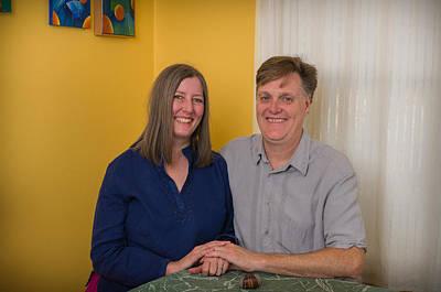Kathy And Allan Art Print