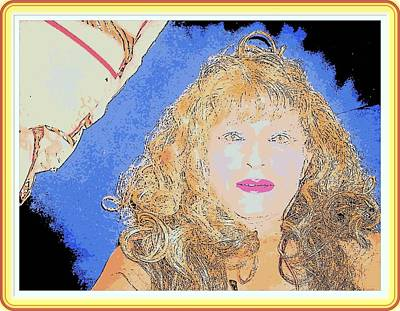 Etc. Digital Art - Linda  by HollyWood Creation By linda zanini