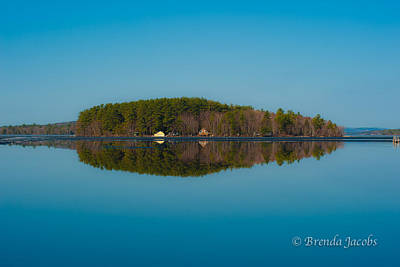 Photograph - 19 Mile Bay Lake Winnipesaukee by Brenda Jacobs