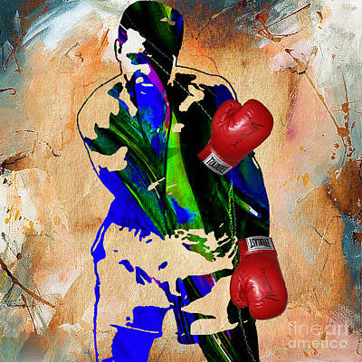 Muhammad Ali Collection Print by Marvin Blaine