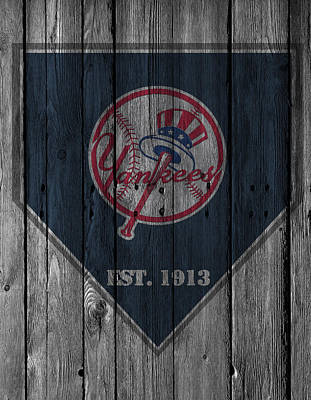 Bats Photograph - New York Yankees by Joe Hamilton