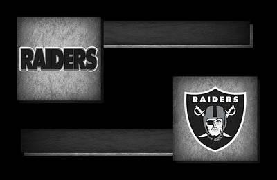Nfl Raiders Photograph - Oakland Raiders by Joe Hamilton