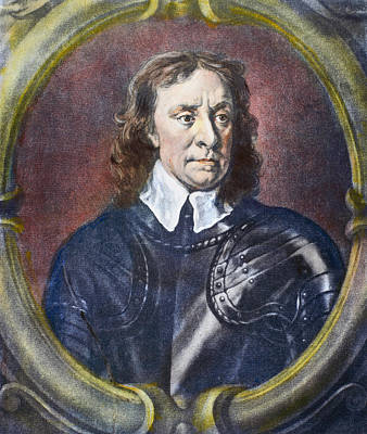 Cromwell Painting - Oliver Cromwell (1599-1658) by Granger