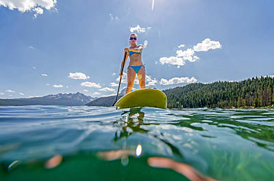 Stand Up Paddle Board Photograph - Paddle Board by Elijah Weber