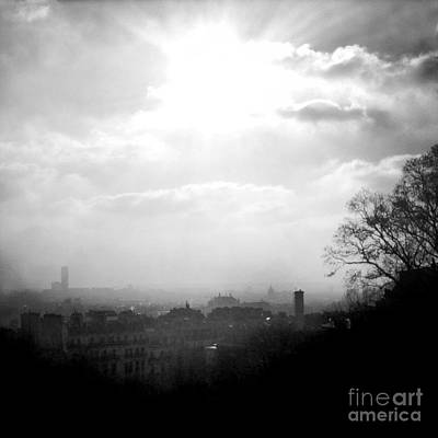 Paris Skyline Royalty-Free and Rights-Managed Images - Paris skyline by Vincent Leprince