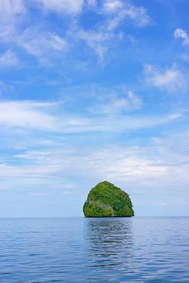 Rock Islands, Palau Art Print