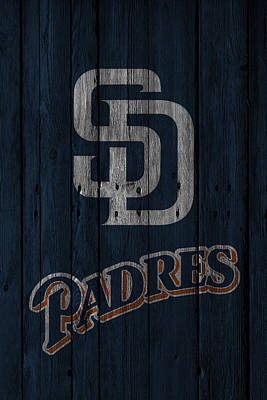 Photograph - San Diego Padres by Joe Hamilton