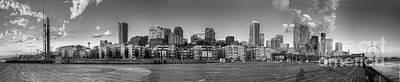Seattle Skyline Photograph - Seattle Skyline by Twenty Two North Photography