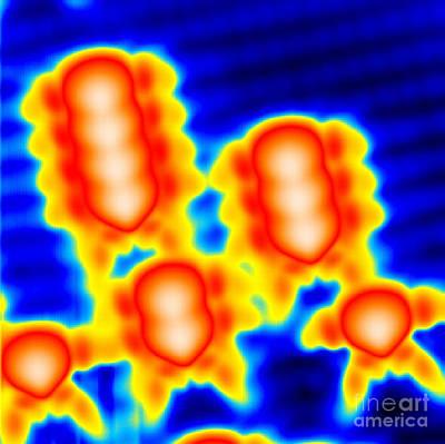 Mechanical Interaction Photograph - Spintronics Research, Stm by Drs. Ali Yazdani & Daniel J. Hornbaker