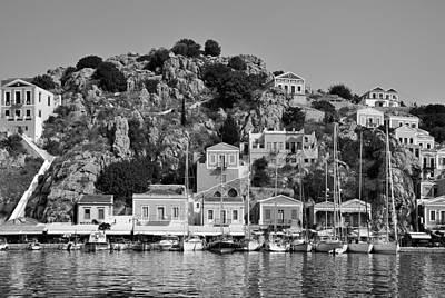 Historical Photograph - Symi Island by George Atsametakis