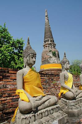 Thailand, Ayutthaya Art Print