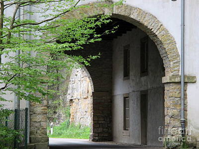 Photograph - Through - Luxembourg by Chani Demuijlder