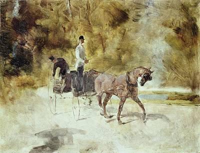 Toulouse-lautrec, Henri De 1864-1901 Art Print by Everett