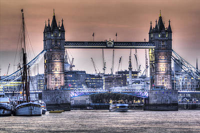 Photograph - Tower Bridge by David Pyatt