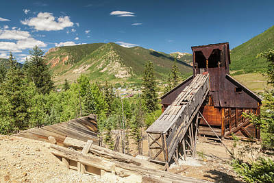 Abandoned Buildings Photograph - Usa, Colorado, San Juan Mountains by Jaynes Gallery