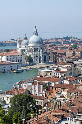 Medieval Temple Photograph - Venice. Italy. by Fernando Barozza