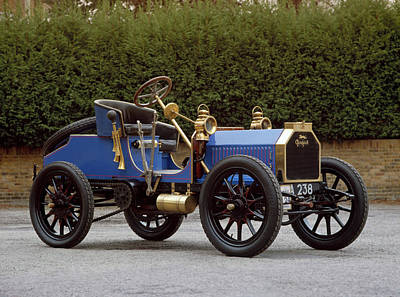 1901 Peugeot Paris Vienna 2-seater Type Art Print