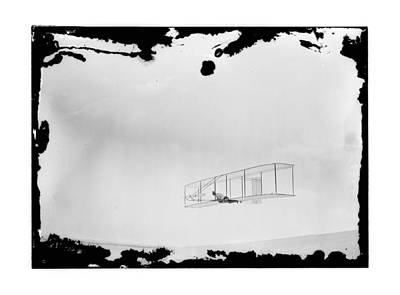 1902 Wright Brothers Double-rudder Glider Art Print by MMG Archives