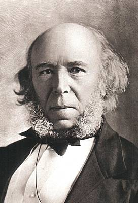 Social Darwinism Photograph - 1903 Herbert Spencer Philosopher Old Age by Paul D Stewart