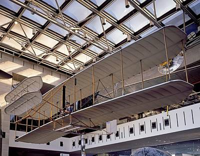 1903 Wright Flyer, Museum Display Print by Science Photo Library