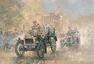 Nostalgia Painting - 1904 Norfolk  by Peter Miller