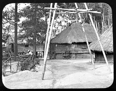 Igorot Photograph - 1904 Worlds Fair Igorot Village by A Gurmankin