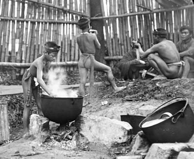 Igorot Photograph - 1904 Worlds Fair Philippino Island Igorot People by A Gurmankin