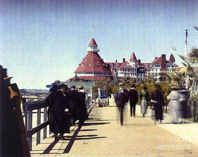1906 Del Boardwalk Art Print