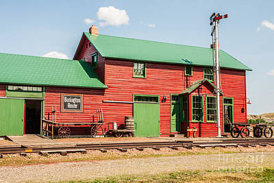 Photograph - 1906 Depot by Sue Smith