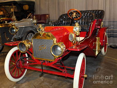1908 Ford Model T Touring 5d25558 Art Print