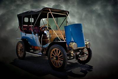 Photograph - 1908 Franklin Touring Car by Tim McCullough