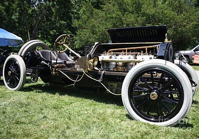1909 Alco 6 American Locomotive Co Racing Car Art Print by John Telfer