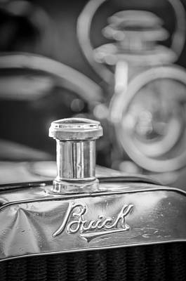 Buick Photograph - 1909 Buick Model F Touring Grille Emblem by Jill Reger