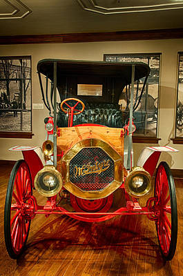 Photograph - 1909 Mcintyre Touring Classic by Gene Sherrill