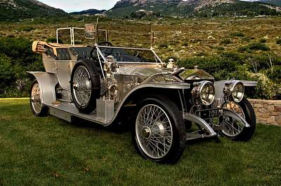 Photograph - 1909 Rolls Royce Siver Ghost by Tim McCullough