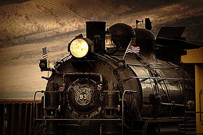 Photograph - 1909 Steam Engine 1909 by Jeanne  Bencich-Nations