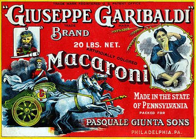 Painting - 1910 Garibaldi Macaroni by Historic Image