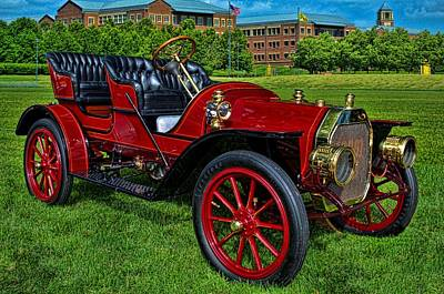 Photograph - 1910 Maytag Mason Model A Touring by Tim McCullough