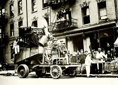 Photograph - 1910 New York City Trash Day by Historic Image