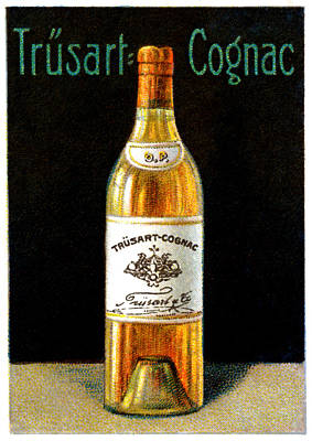 Cognac Painting - 1910 Trusart Cognac by Historic Image